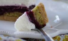 """Joyeux anniversaire la """"Bataille Food"""" ! (cheesecake cerise & pistache)"""