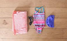 Le sac de piscine