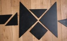 Un tangram géant (avec le tuto)